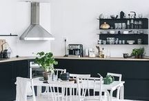 Decor at Home: Kitchens☼ / Kitchen and dining room decor from every style conceivable, plus tips for making your kitchen a neater, more organized and cleaner space
