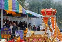 """Mardi Gras☼ / Mardi Gras, or """"Fat Tuesday,"""" is the last day of the Carnival season as it always falls the day before Ash Wednesday, the first day of Lent. This year it is on February 17, 2015"""