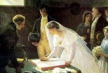 Regency wedding / by Vic (Jane Austen's World)