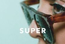 Retrosuperfuture® / This new brand is definitely shaking things up. Starting off with only three frame styles, they have since expanded to having 20+ different silhouettes, all of which are expressive, stylish and fun. With every product hand crafted in Italy, Retro Super Future sunglasses are all about quality and innovation as much as fashion.