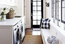 Interior   Laundry Room / Laundry rooms are one of the most forgotten areas in the house, but why should they be? Revamp your laundry room into a space that you will actually enjoy spending time in!