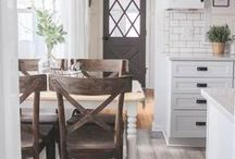 Style   Farmhouse / Farmhouse style has a great visual appeal and brings back images from the past, recreating the unique atmosphere and harmony of the time. Natural wood, soft colors, fireplace, beamed ceiling, the spectacular use of interior textiles create a place that invites you to stay and make yourself at home.