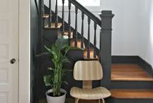 Details   Staircases / Accent your staircase with some stunning railings and flooring. The staircase near your front entryway or living space doesn't need to be an eyesore, but a complimentary addition.