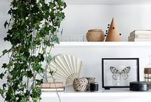 Design   Vignette / Vignettes are the perfect decor piece in any room. These ones are great ideas for creating your own!