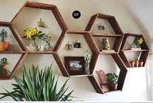Design   Shelving / Shelving is a beautiful addition to any room and the perfect way to organize your unorganized clutter.