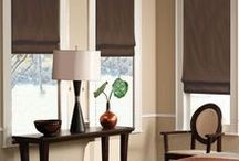 Design   Window Treatments / No windows are complete without some type of drapes, shades, or other window treatment to pull the room together.
