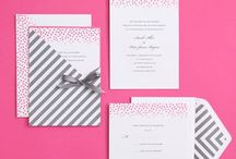 Party Invitations & Paper Pretties / paper, invitations, invites, suites / by Courtney Whitmore | Pizzazzerie.com