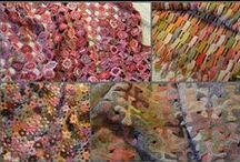 Fabric & Fibre creations / creations to have a try at making & inspirations too . . .