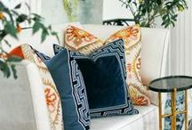Pillow Perfection / Rowley Company Thinks Pillows Make the Room / by Rowley Company