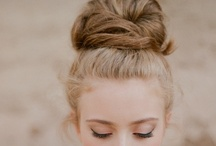[ hair & makeup love ] / by Samantha Macabulos