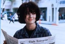 Wino Forever / An ode to my longest girl crush, Winona Ryder.