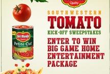 Del Monte® Southwestern Tomato Kick-Off