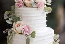 Wedding Cakes / Oh Sweet, Sweet Marriage...and wedding cakes. Check out the latest trends people are doing for their wedding cakes on their special day.
