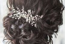 Wedding Hairstyles / Pair your favorite hair styles with Gabriel Fashion jewelry. Find all types of hair inspiration for your wedding day here. From up-dos to elegant and classic curls. https://www.gabrielny.com/storelocator