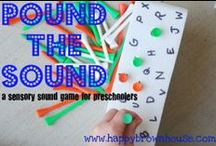 ABC's and 123's Preschool Ideas / by Supermom! ❤