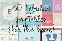 Free Printables 4 Home Decor / by Supermom! ❤