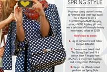 My Spring Style / #HarpersBAZAAR #SpringStyle