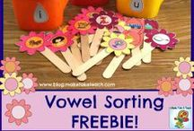 Early Literacy Freebies or DIY / by Supermom! ❤