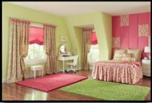 Rowley Young Girl's Bedroom Roomscape / Rowley Company Creates the Dream Room for a Young Girl / by Rowley Company