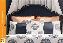 Stylish Upholstered Headboards / by Rowley Company