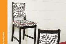 Upholstered Dining Chairs with Flair / by Rowley Company