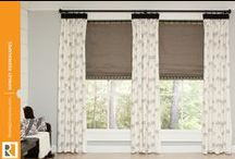Pleated Drapery Panels / by Rowley Company