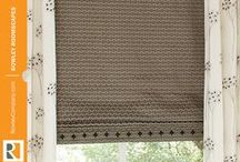 Embellished Roman Shades / by Rowley Company