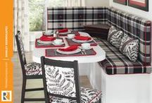 Banquette Cushions & Pillows / by Rowley Company