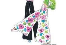 sewing pattern women pants - patrons couture femme pantalons