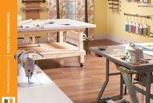 Workroom Storage Ideas / by Rowley Company