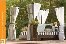 Rowley Outdoor Cabana Roomscape / by Rowley Company