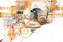 Scrapbooking / Give me paper, adhesive, a reason to create, time, and an idea. Pure Joy. / by Marilyn Zimmers