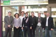 Les membres du réseau Cimm Immobilier / The members of Cimm Immobilier / Le réseau Cimm Immobilier comporte de nombreuses agences et agents mandataires partout en France. Retrouvez ici nos franchisés en images !  http://www.cimm-immobilier.fr