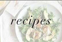 Recipes / Breakfasts, lunches, dinners, drinks, snacks, and desserts we love!