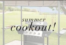 Summer Cookout! / Find all of your summer outdoor entertaining needs here: http://bit.ly/11fyICz