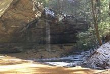 """Hocking Hills Travel Blog / These are my stories and pictures about the Hocking Hills. I have been coming to the Hocking Hills since I was a very small child and have come to love the """"Hills"""". I am very passionate about telling everyone I know about them, too. Please help me spread the word (and pictures) around. Tell your friends, neighbors and relatives. They will thank you for it!"""