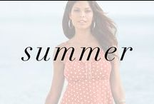 Summer / Plus size apparel inspired by a love for iced coffee, beach days, and outdoor adventures. / by OneStopPlus