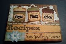 Recipe Scrapbooks / by Vickie Nash