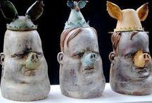 Art - Figurative Sculpture / by Cindy Guard