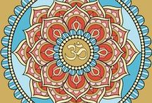 ❇ Mandala ❇ / by Mary E. Berens-Oney