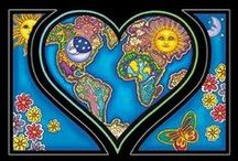 ❧ Harmony Thoughts ❧ / ❧ Harmony Is One Love ❧ / by Mary E. Berens-Oney