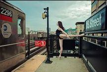 Luis Pons / NYC Photographer connects his sensitivity to the dancer in front of his lens. Luis, dancer and the city create magic!