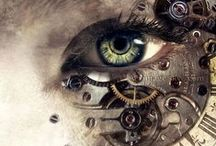 ❧ Steampunk Love ❧ / by Mary E. Berens-Oney