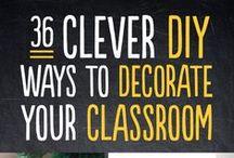 Classroom Style / Classroom set up and decor ideas / by Stephanie Seretis