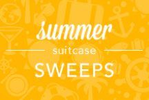 """Summer Suitcase Sweeps (Contest Closed) / NOW CLOSED! We've started packing our suitcase full of summer essentials. Let us know what you would add by following us and pin ONE item from this board with """"Summer Suitcase Sweeps"""" in the caption by May 30th: FIVE PEOPLE WILL WIN $100 towards their next OneStopPlus purchase! / by OneStopPlus"""