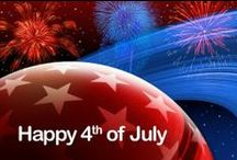 ✩♫*¨* Happy 4th Of July *¨*♫✩ / by Mary E. Berens-Oney