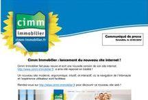 Presse / Découvrez toutes les actualités et informations concernant le Réseau Cimm Immobilier! Plus d'informations dans la rubrique Presse de notre blog : http://blog.cimm-immobilier.fr/theme/presse