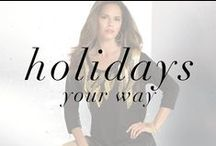 Holiday Lookbook / Holidays Your Way