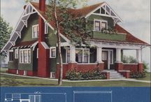 Early 1900s Foursquare / by Erin Rasberry Napier