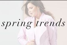 Spring Trends Lookbook / Just in time for spring! Shop some of our favorite trendy looks for the season.